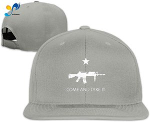 Yellowpods Black Ar-15 Come And Take It Men's Relaxed Medium Profile Adjustable Baseball Cap