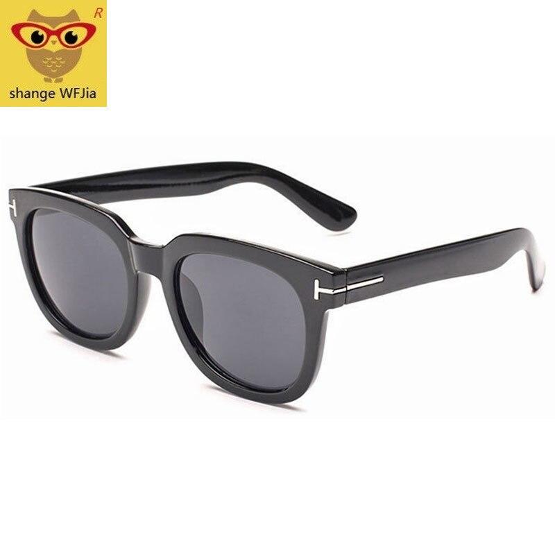 2019 Square James Bond Sunglasses Men Brand Designer GlassesWomen Super Star Celebrity Driving Sunglasses Tom for Men Eyeglasses