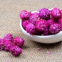 100g Freies verschiffen natürliche getrocknete lila Gomphrena globosa blume knospen globe amaranth blume knospen