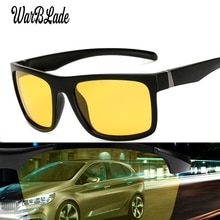 WarBLade 2019 nouveau classique marque de créateur jaune Anti-éblouissement hommes conduite de nuit lunettes de soleil polarisées Vision nocturne hommes lunettes