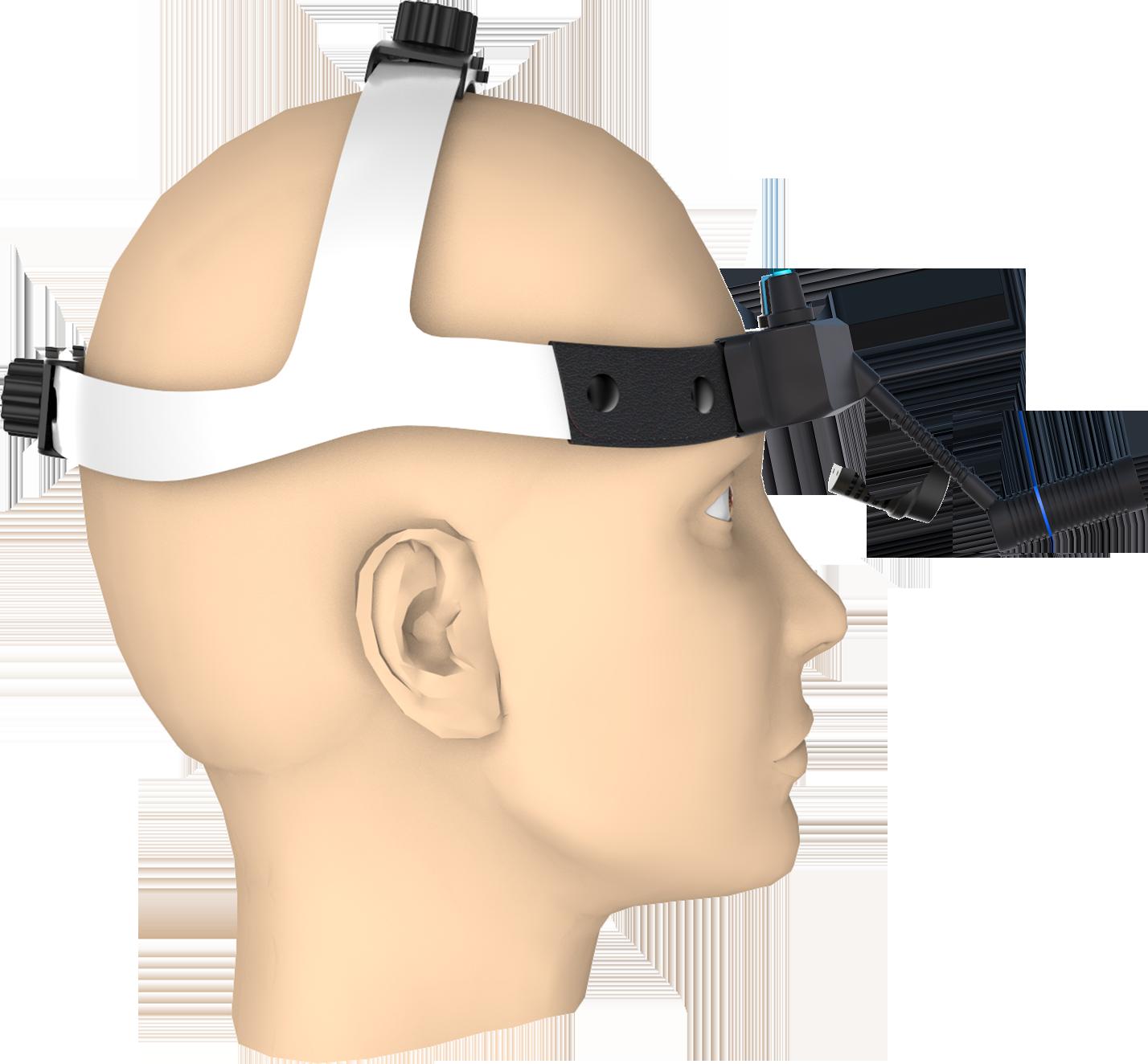 360 Degrees Ajustable Rechargeable High Intensity 3W ENT Headlamp Dentistry Operation Helmet Lamp LED Headlight(TD-V08) enlarge