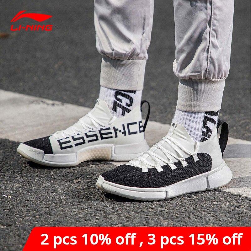 Li-ning men essence 2.0 ws sapatos de basquete mono fio forro wearable li ning fitness sapatos esportivos tênis agbn033 yxb208