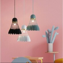 Bedroom Pendant Light Kitchen Modern Wood Ceiling Lights Home Lighting Bar Lamp Badminton Lovers Home Decor