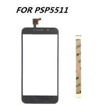جديد 5.0 بوصة لمس شاشة ل Prestigio Grace M5 LTE PSP5511 DUO لمس الشاشة زجاج لوح مستشعر زجاج عدسة استبدال