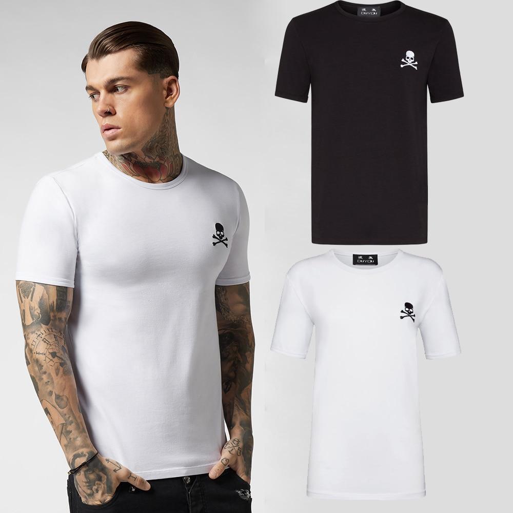 PPFRIEND Men T Shirt Men Connect Series Printed Colored Letters T-shirt Men Durable Cotton Short Sleeves Camisetas Hombre PP9111
