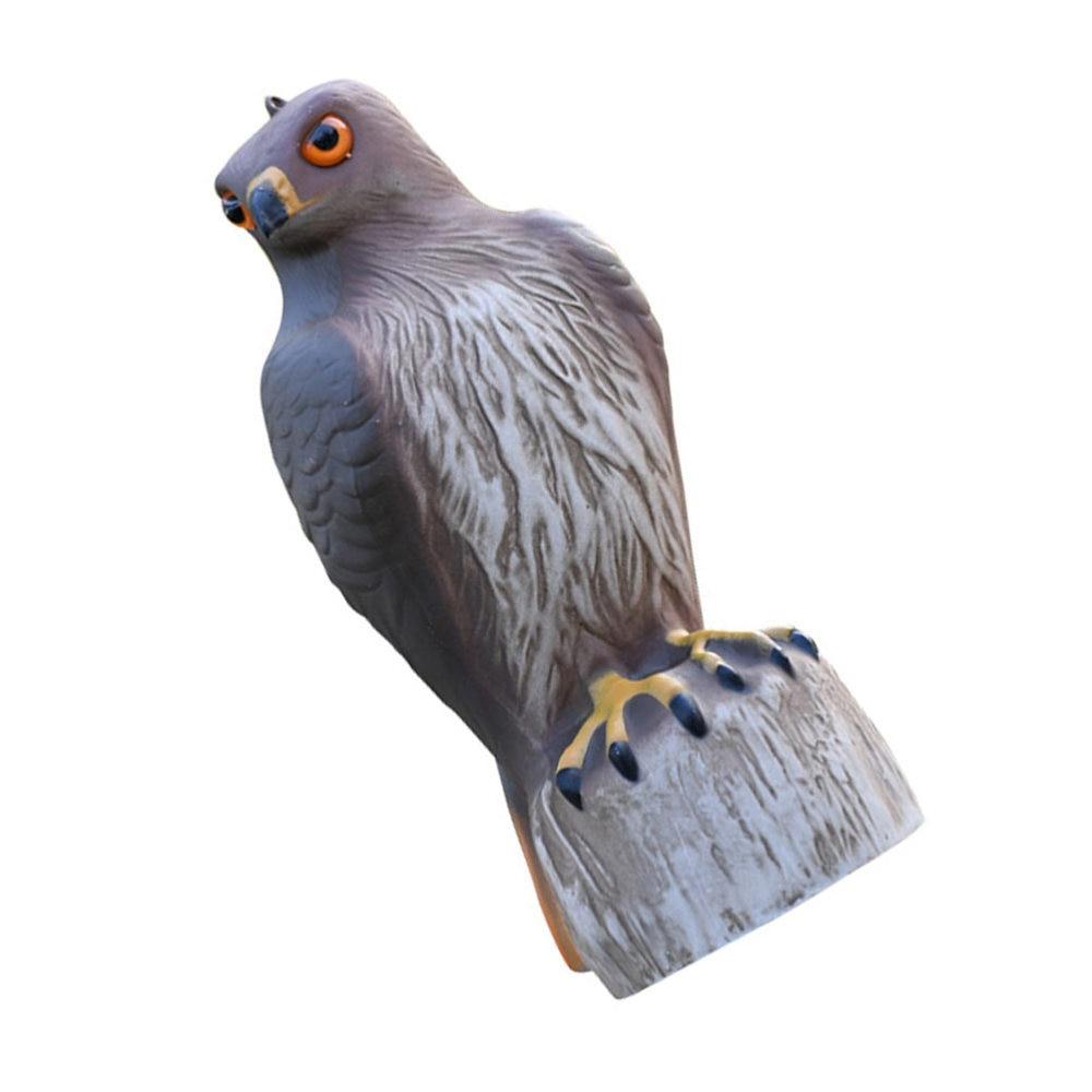 1 قطعة نموذج محاكاة النسر ديكور في الهواء الطلق مزرعة الطيور طارد النسر حلية