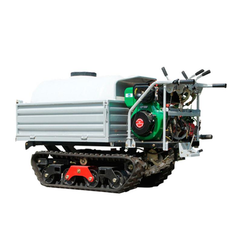 Drug sprayer self-propelled spray truck orchard insect pastoral management conveyor crawler-type agricultural loader car