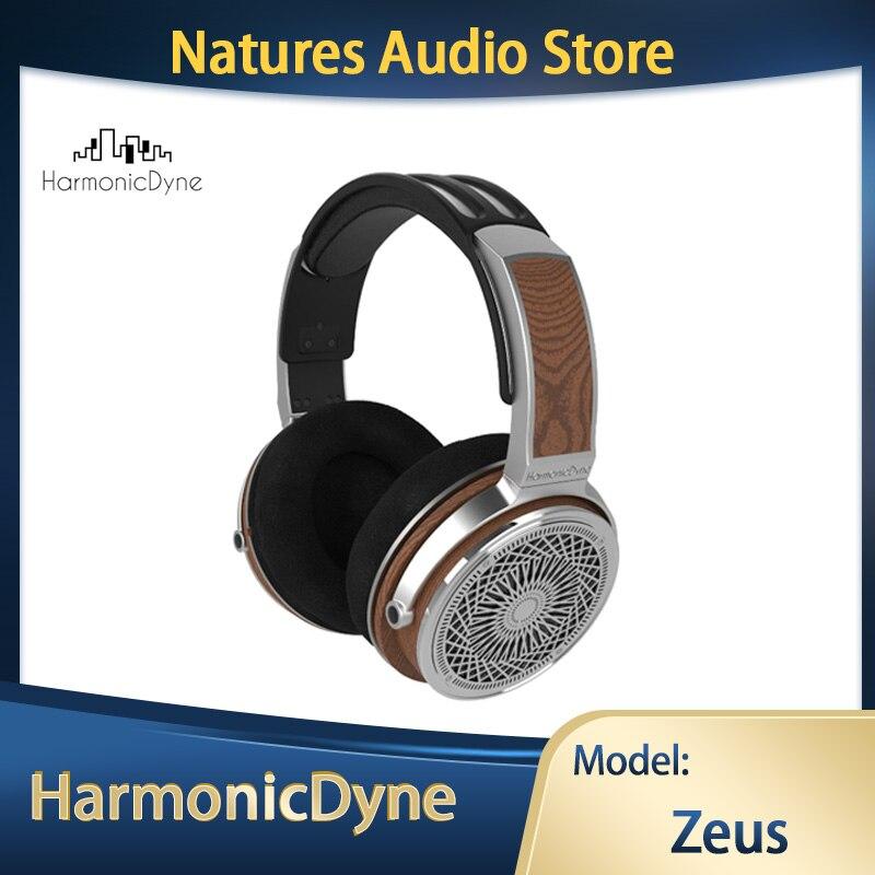 هارمونيكدين زيوس 50 مللي متر HIFI البريليوم الديناميكي القيادة سماعة ، عالية الوضوح الصوت انفصال كابل مع الجوز قذيفة