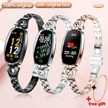 H8 Smart Watch Sport Heart Rate Monitor IP67Waterproof Fitness Bracelet Girl Women Sport Watche Smar