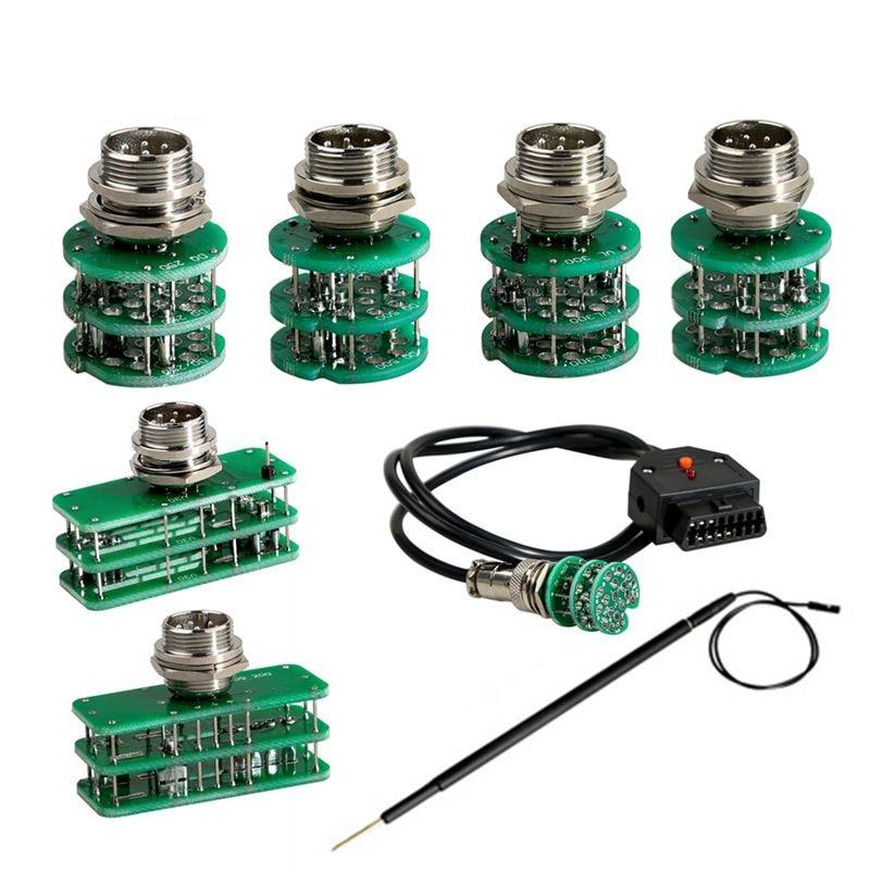 Adaptadores de Juego completo para KTM FLASH Car ECU programador de coches herramientas de diagnóstico OBD2 Cable V30 DQ250 DQ500 UL381 DQ200 VL300 adaptador