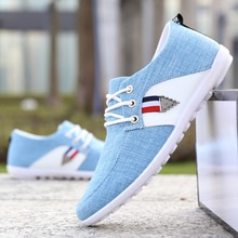 New 2021 Spring Autumn Canvas Shoes Men Sneakers Low Top  Shoes Men's Casual Shoes Male Brand Fashio