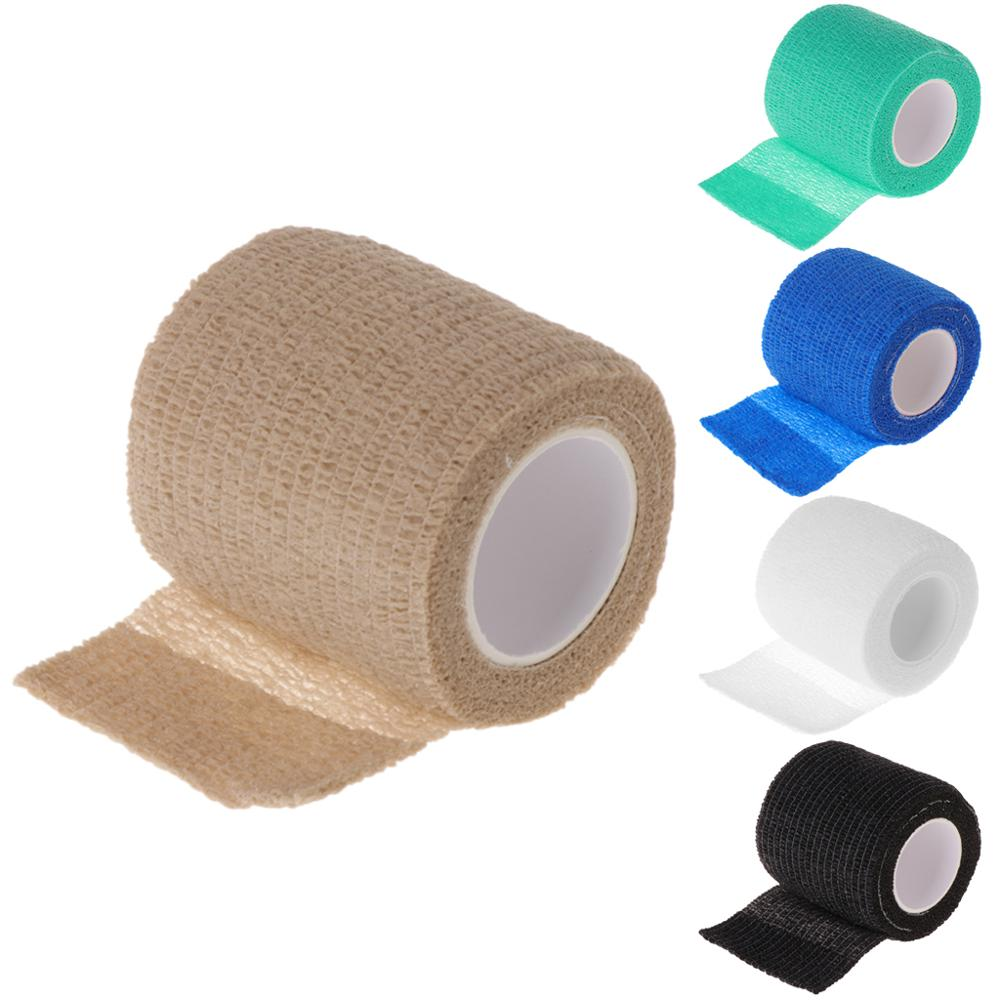 1Pc Disposable Tattoo Self-adhesive Elastic Bandage Grip Cover Wrap Sport Tape X7YB