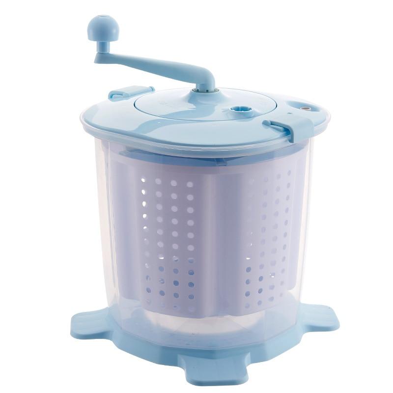 Manual  Washing machine Washing and dewatering machine Manual washing dormitory summer Clothes Portable Dryer Machine enlarge