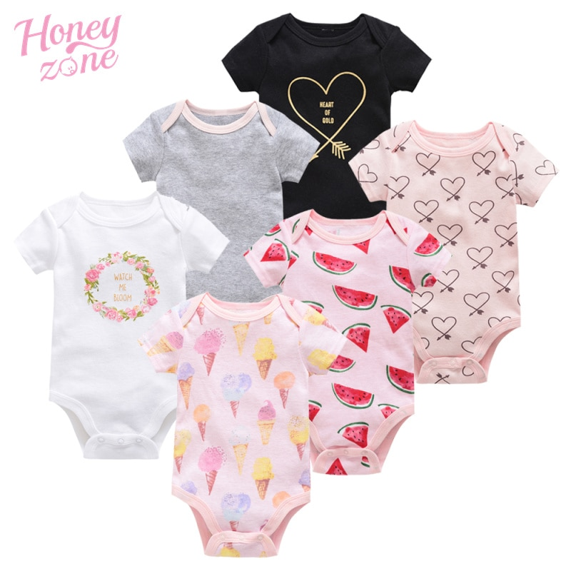 Conjunto de ropa de verano para bebé, ropa de algodón de moda...