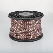 Viborg VS903 dinamik performans serisi 17AWG büküm düz düz bakır hoparlör kablosu surround hoparlör kablosu duvar hoparlör kablosu