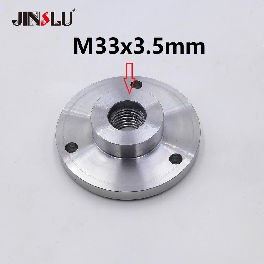 mt3 ms3 taper shank ring flange plate connector adapter for k11 k12 125mm 5 5inch 3jaws 4jaws 125 chuck lathe spindle milling M33x3.5mm M33 Spindle Thread chuck Flange Back Plate base plate Adapter Plate K11-80 K12-80 K11-100 K12-100
