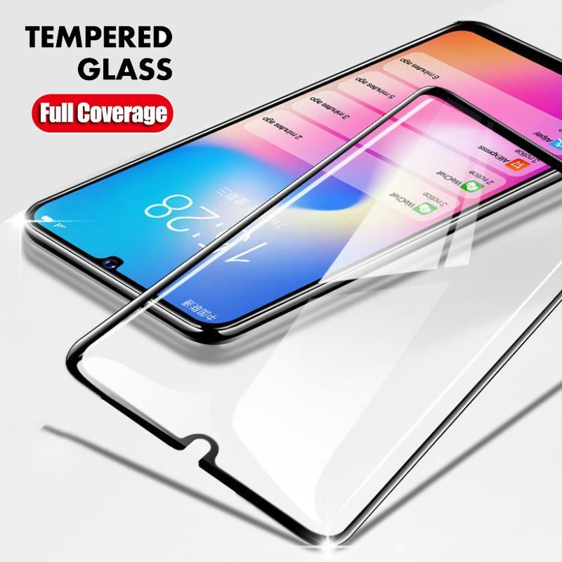 La cobertura completa de templado de vidrio de película para Samsung Galaxy A30S A50S A10S A20S A40S A10 A20E A20 A30 A40 A50 A51 A71 Protector de pantalla