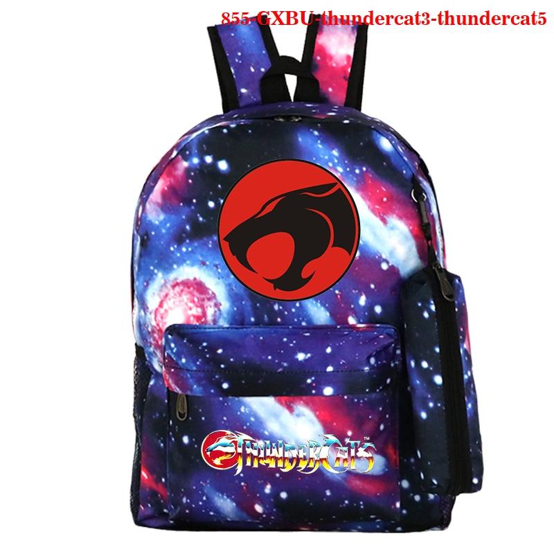 Thundercat Bookbag Backpack Teenagers School Bags Women Men School Bag Thundercat Fashion Travel Laptop Daily Backpack Bags недорого