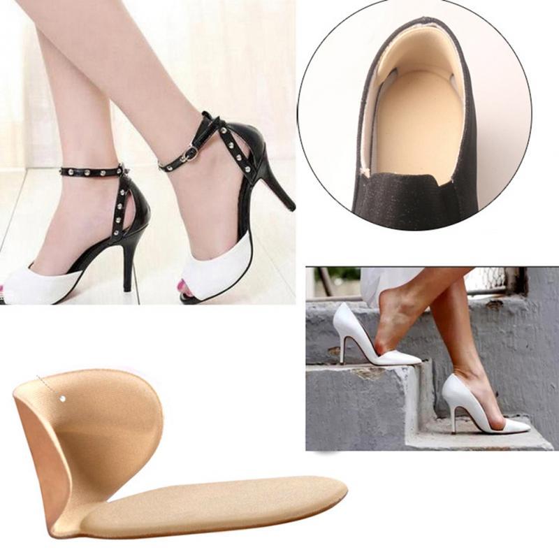 Plantilla de zapato suave Unisex en forma de T almohadilla de tacón de pie almohadilla de zapato suave para zapatos de alta sanación zapatos suaves calcomanía pies masajeador de 6 colores
