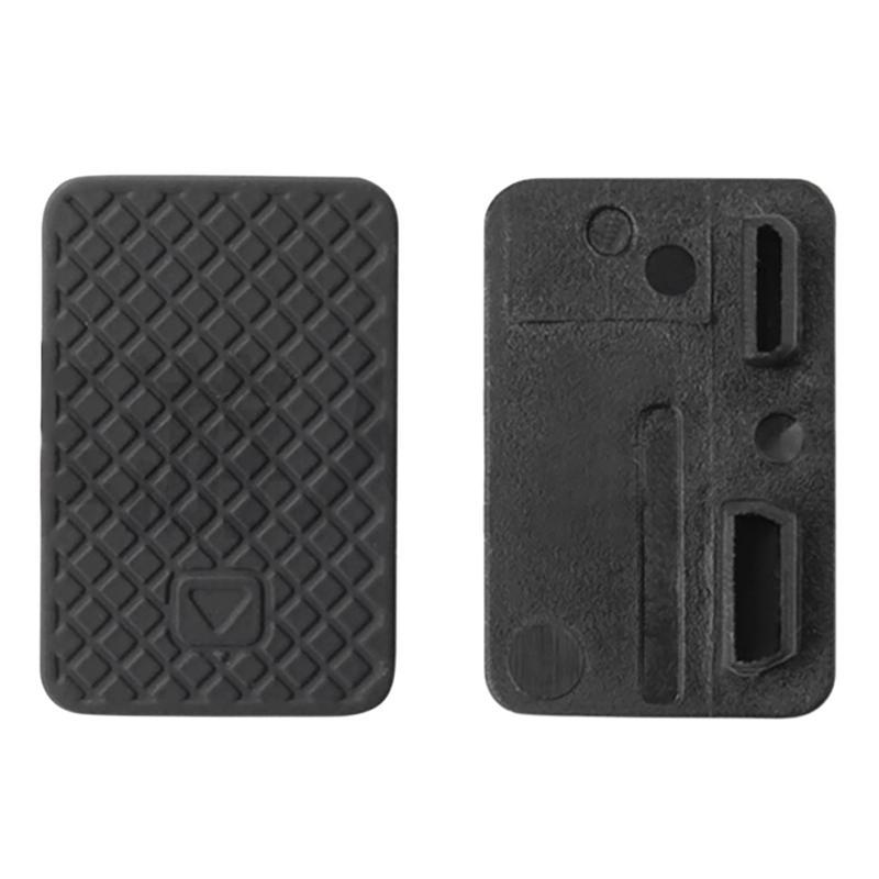 Cubierta protectora para puerta lateral Mini USB, repuesto para GoPro 3 + accesorios 3 acción 4 Cámara deportes Hero O2K0