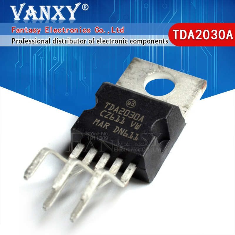 10PCS TDA2003 TDA2030 TDA2050 LM317T IRF3205 Transistor ZU-220 TDA2003A TDA2030A TDA2050A TO220-5