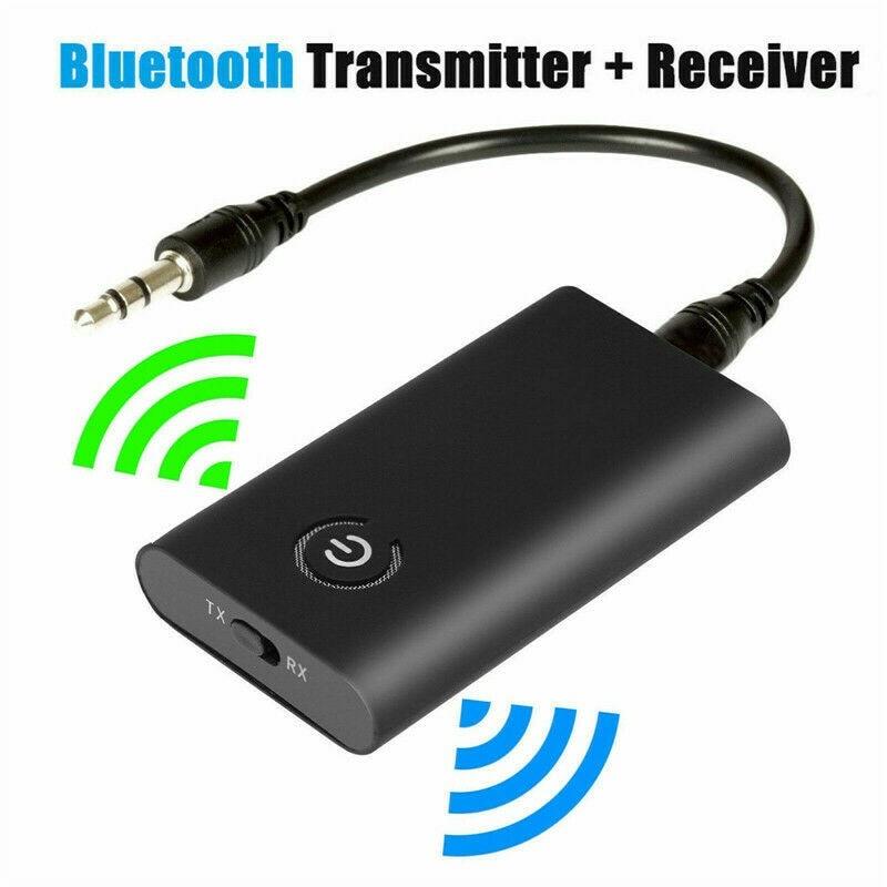 eunavi 2 4g wireless transmitter 2 In 1 Wireless Bluetooth 5.0 Transmitter Receiver Audio 3.5mm Jack AUX Adapter Bluetooth Transmitter Receiver