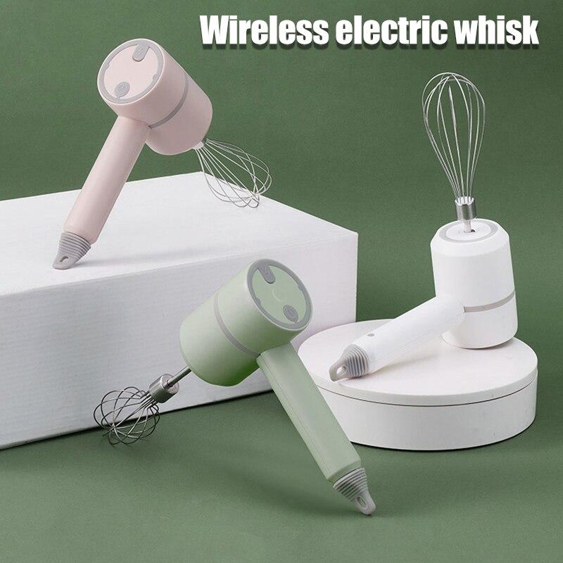 جديد لاسلكي خلاط كهربائي يدوي قابلة للشحن خلاط يدوي صغير أداة المطبخ للمطبخ الخبز أدوات الطبخ Outils الأدوات