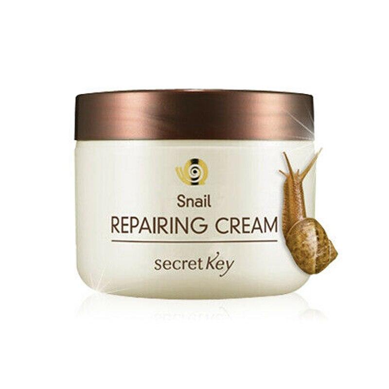SECRET KEY Snail Repairing Cream 50g Scar Acne Treatment Snail Cream Moisturizing Face Cream Anti Wrinkle Whitening Skin