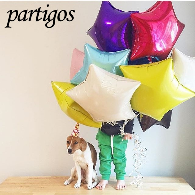 1pcs 24inch Gold Silver Star Aluminium Foil Balloon Baby Shower Birthday Party&Wedding Decoration Children's Day Supplies