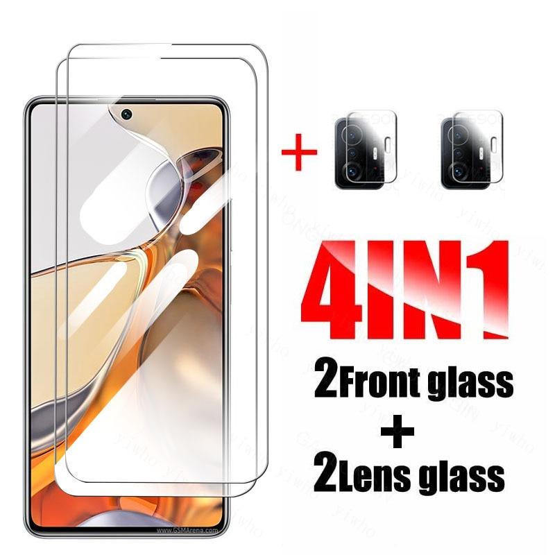 Camera lens glass For Xiaomi MI 11T Pro Screen Protector Glass On Xiaomi11T Xiomi Mi11T Mi 11 T Pro Xiaomi11T Tempered Glass
