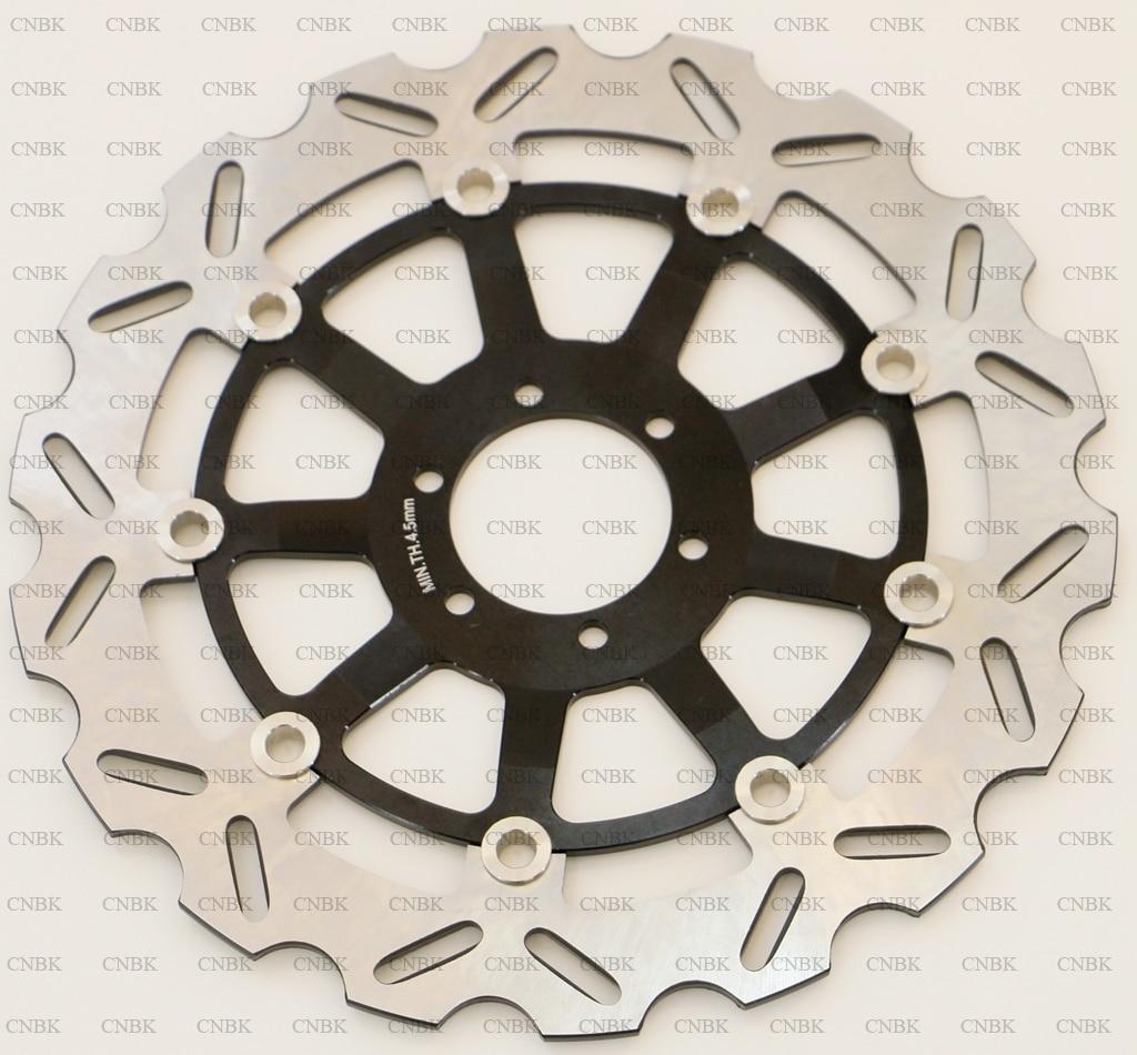 Rotor de freno de disco delantero de 320 mm para BENELLI TNT 1130 TNT1130 2005 & up 05