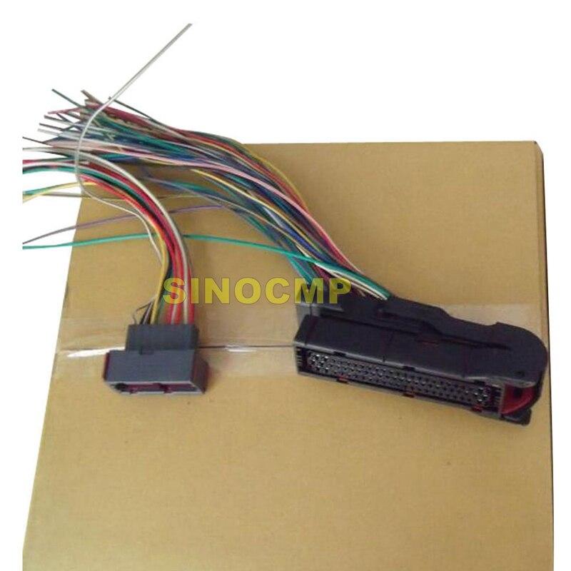 Plugue do conector do vecu para a máquina escavadora do controlador 14548349 ec210b ec290b ec360b ec460b