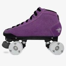 BONT Prostar patin à roulettes daim Quad skate Derby chaussure de skate
