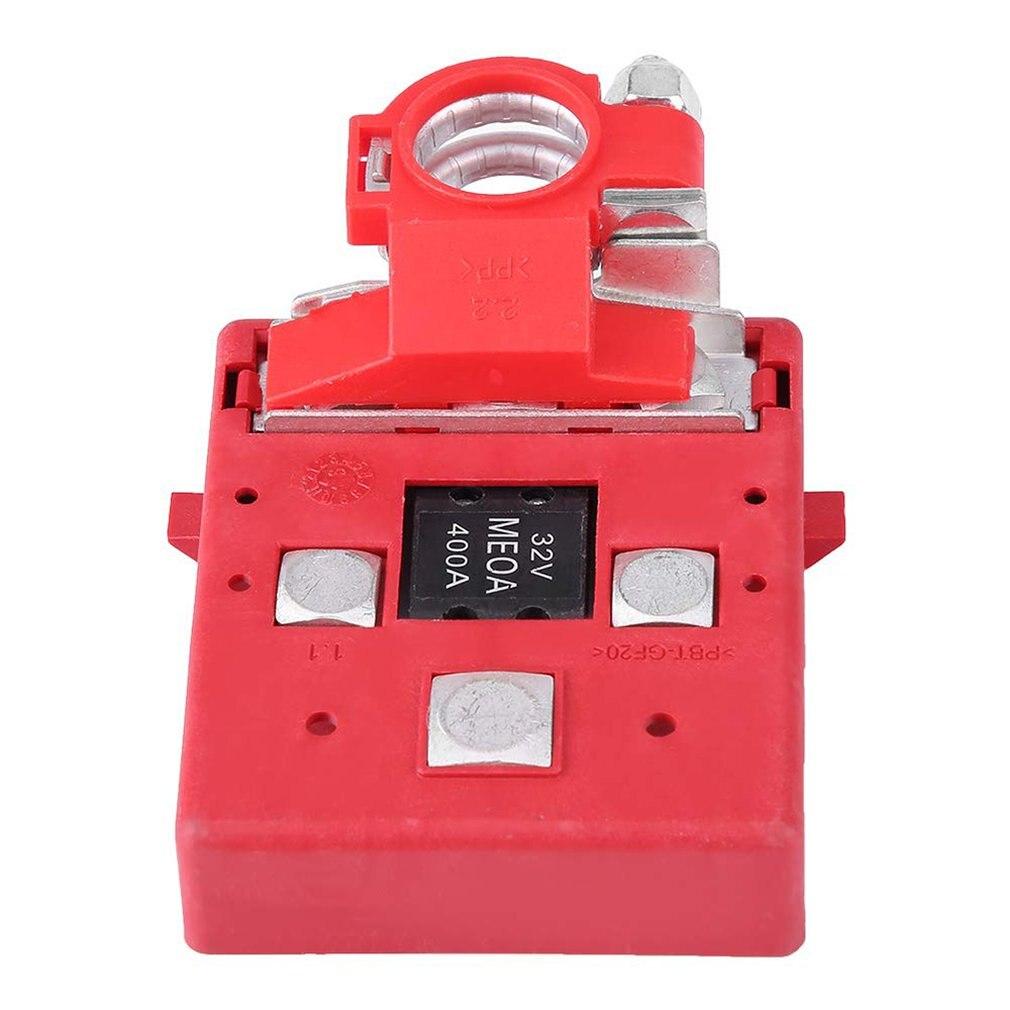 Terminal de batería positiva para coche y caravana 32V 400A conector de abrazaderas de terminales de distribución de batería fundida de liberación rápida