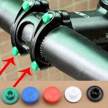5pcs bicycle handle screw cap plastic cap M5 riding accessories suitable for mountain bike road bike folding bike
