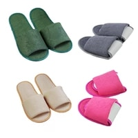 hotel one off guest shoes women shoes flip flop slippers classic wedding fashion travel folding indoor easy carry slippers