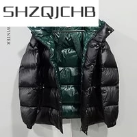 shzq fashion mens down jacket man clothes 2021 streetwear thick 90duck down jacket casual warm coat male hiver casaco lw1100
