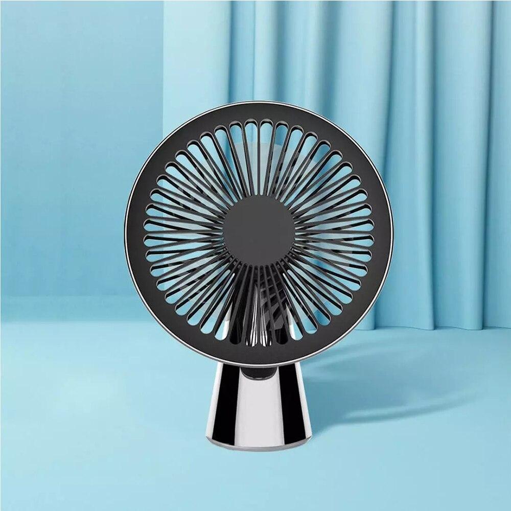 Smartfrog usb recarregável ventilador de mesa portátil ultra-silencioso ventiladores usb elétrico silencioso ventilador de mesa para casa com bateria