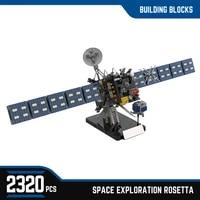 moc 69083 space probe rosetta comet rocket space model building blocks high tech wars bricks creativity ideas education toys