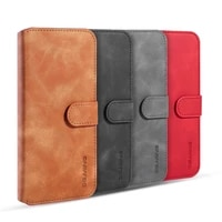 case for huawei honor 20 pro luxury flip leather phone wallet credit card retro magnetic shockproof protective stand wallet cove