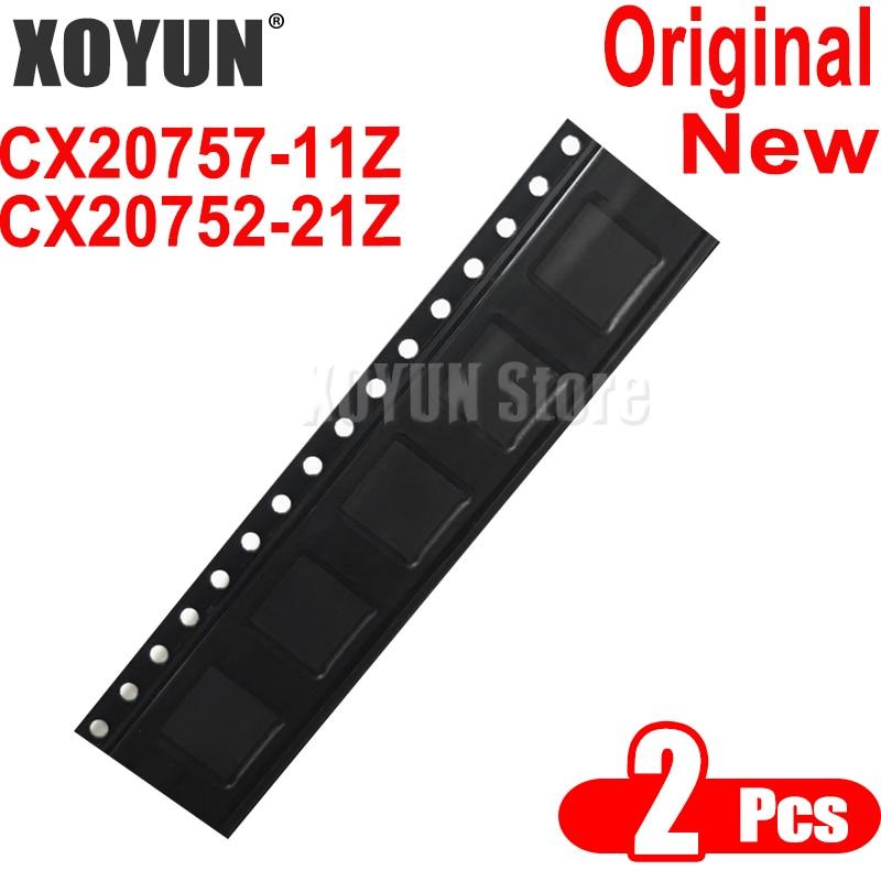 2 pçs/lote CX20757-11Z CX20752-21Z CX20757 11Z CX20752 21Z CX20752-21Z CX20752 21Z QFN-40 100% Novo
