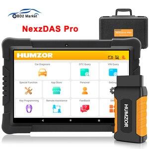 Image 1 - Автомобильный диагностический сканер humзор NexzDAS Pro OBD2, инструмент для диагностики автомобиля IMMO TPMS EPB DPF SAS ABS инжектор для сброса масла PK MK808