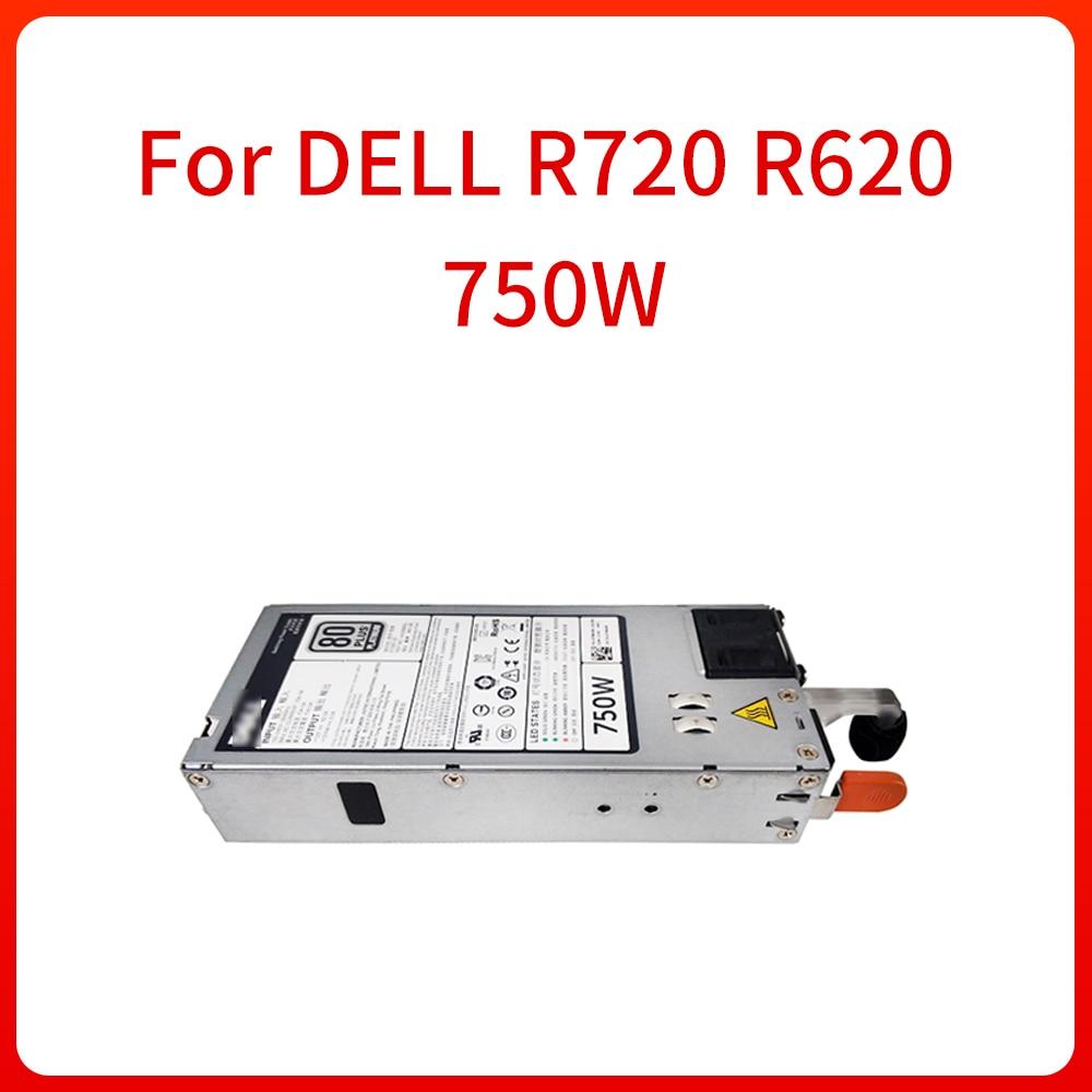750W خادم التيار الكهربائي 0 CWKMX 079RDR 05NF18 06W2PW ل R720 R620 CWKMX 79RDR 5NF18 6W2PW 100% الأصلي اختبار