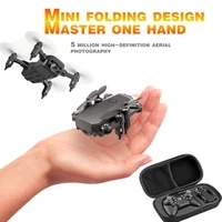 mini drone lf606 4k hd camera foldable quadcopter one key return fpv drones rc helicopter quadrocopter kids toys