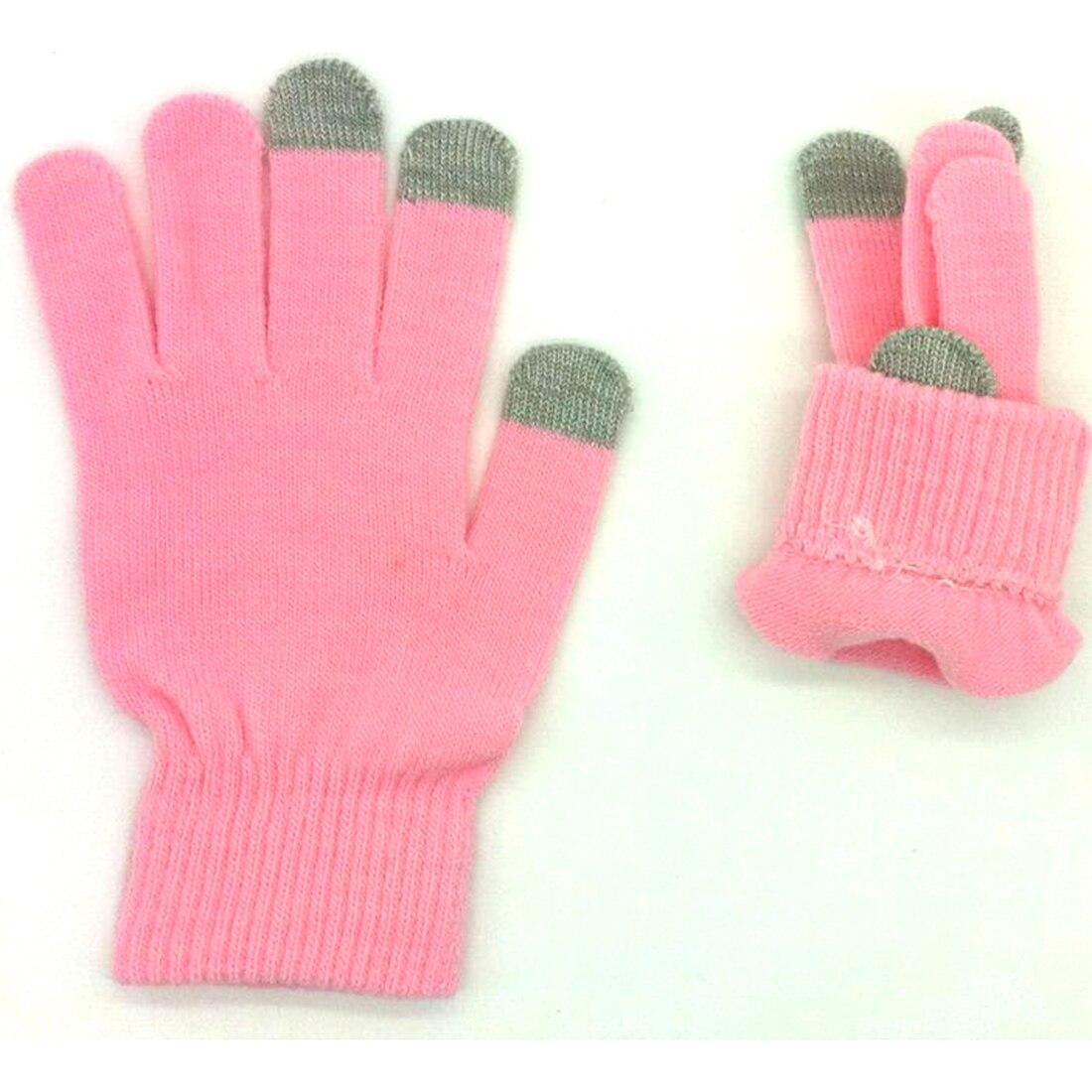 Guantes de pantalla táctil de invierno para hombre y mujer, lana de...