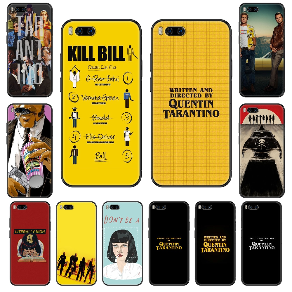 written-directed-quentin-tarantino-phone-case-for-xiaomi-mi-6-8-9-a1-2-3-max3-mix2-mix2s-x-t-lite-pro-black-fashion-cover-soft