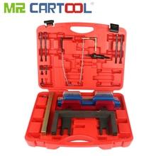 Mr cartool bmw n51 n52 n53 n54 n55 캠축 크랭크 축 정렬 타이밍 잠금 도구 용 자동 엔진 타이밍 도구 세트 키트