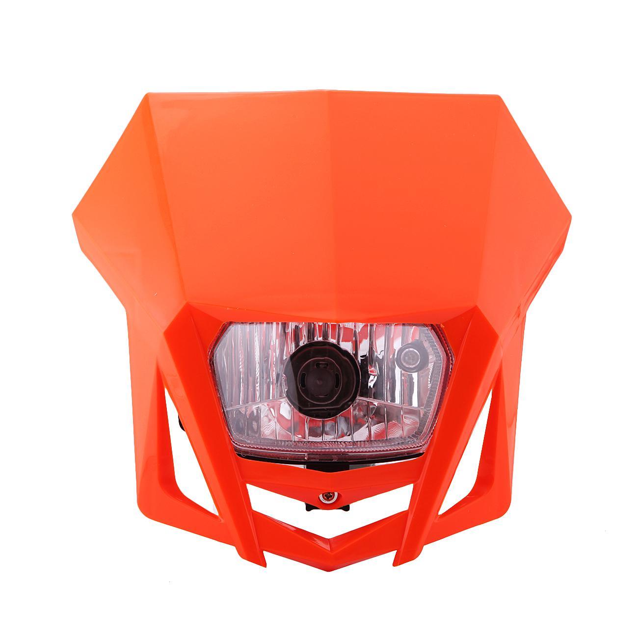 Kit de carenado de faro de motocicleta de 12V Enduro Universal para Yamaha WR450F YZ250F XT250X XT600 TTR250/Kawasaki KLX150