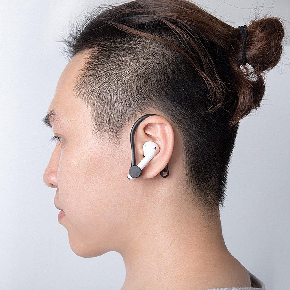 Mini Auriculares Bluetooth con gancho para las orejas, soporte de silicona anticaída,...