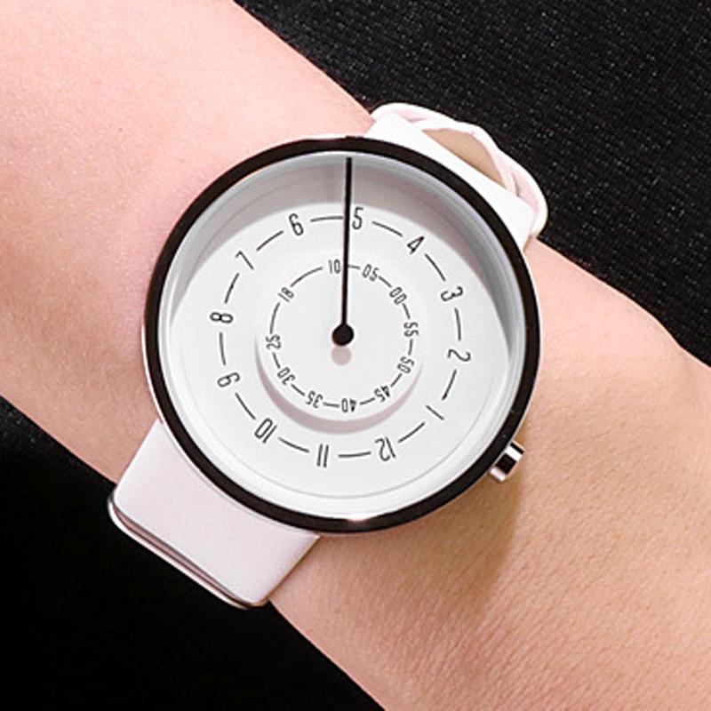 2020 Paidu Women Watches Fashion Casual White Watches Women Leather Band Analog Quartz Wristwatches